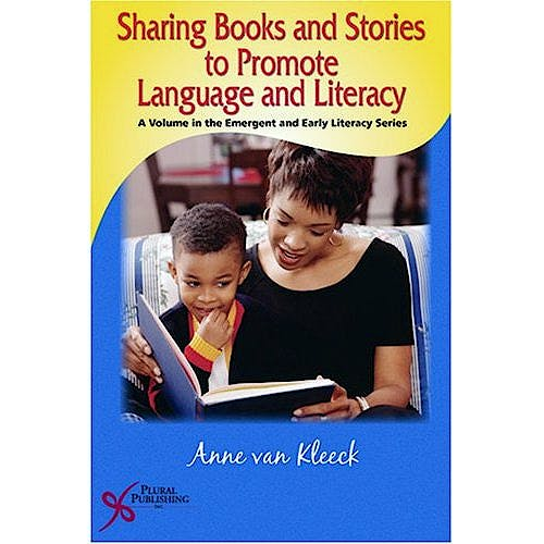 Portada del libro 9781597560917 Sharing Books and Stories to Promote Language and Literacy