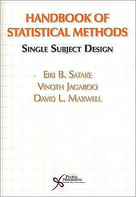 Portada del libro 9781597560986 Handbook of Statistical Methods. Single Subject Design