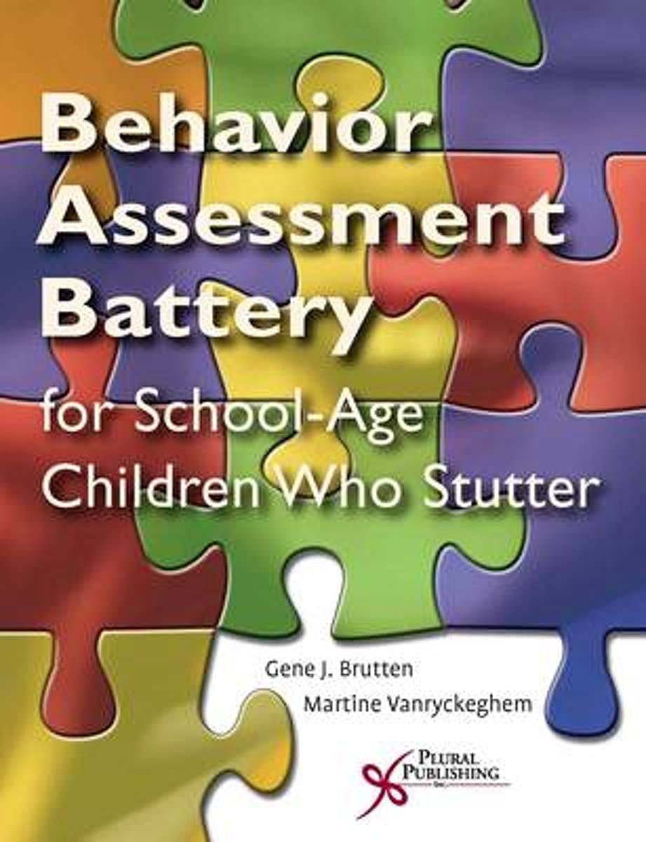 Portada del libro 9781597561143 Behavior Assessment Battery for School-Age Children Who Stutter