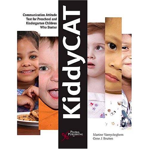 Portada del libro 9781597561174 Kiddycat. Communication Attitude Test for Preschool and Kindergarten Children Who Stutter