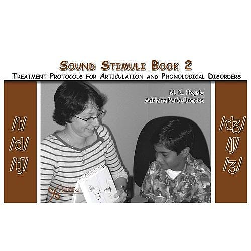 Portada del libro 9781597561297 Sound Stimuli for /T/ /D/ /ʧ/ /ʤ/ /ʃ/ /ʒ/. Book 2 Fortreatment Protocols for Articulation and Phonological Disorders