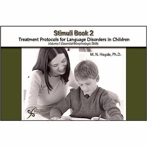 Portada del libro 9781597561501 Stimulus Book 2. Treatment Protocols for Language Disorders in Children Volume 1
