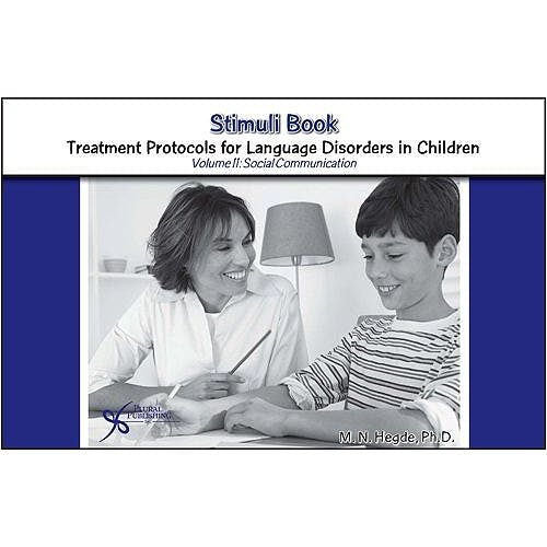 Portada del libro 9781597561518 Stimulus Book. Treatment Protocols for Language Disorders in Children Volume 2