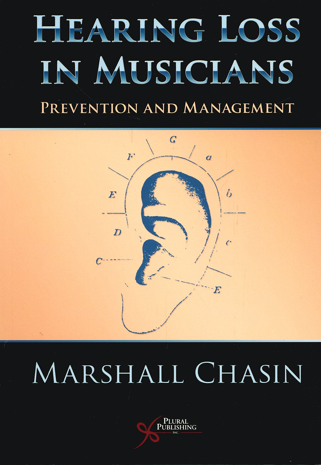 Portada del libro 9781597561815 Hearing Loss in Musicians. Prevention and Management
