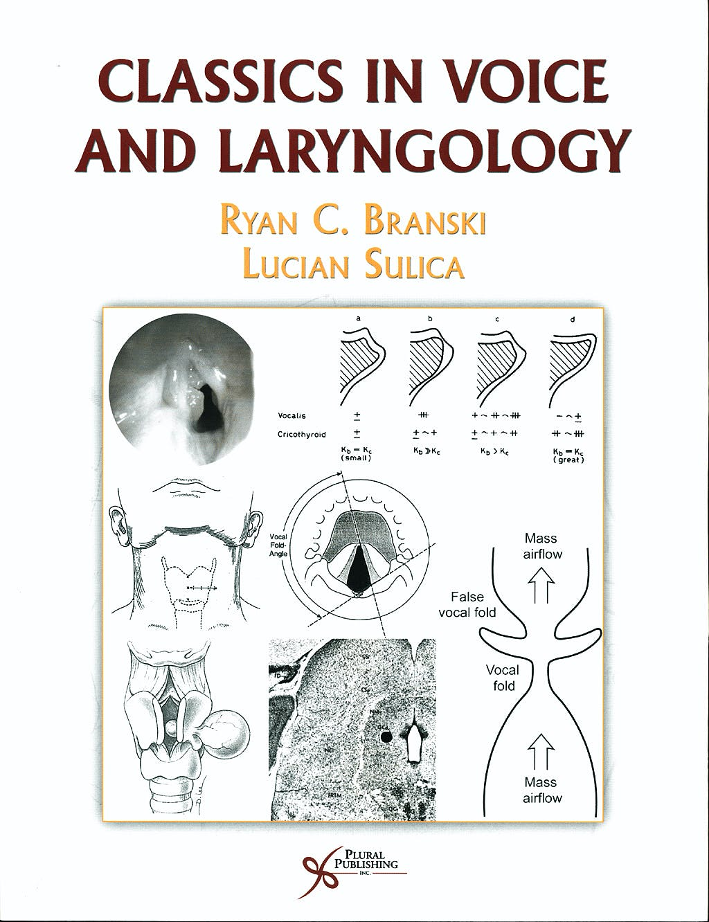 Portada del libro 9781597562423 Classics in Voice and Laryngology