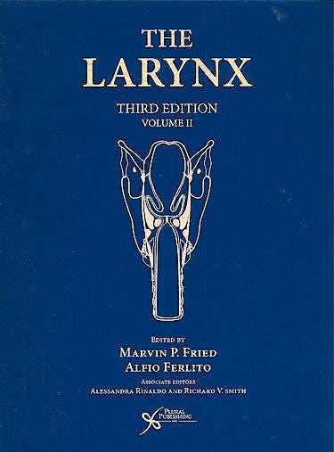 Portada del libro 9781597562577 The Larynx, Vol. II