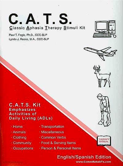 Portada del libro 9781597562881 Classic Aphasia Therapy Stimuli Kit