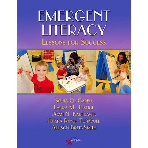 Portada del libro 9781597563017 Emergent Literacy. Lessons for Success