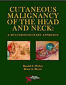 Portada del libro 9781597563383 Cutaneous Malignancy of the Head and Neck: A Multidisciplinary Approach