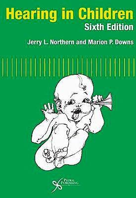 Portada del libro 9781597563925 Hearing in Children