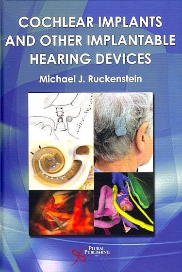 Portada del libro 9781597564328 Cochlear Implants and Other Implantable Hearing Devices