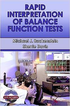 Portada del libro 9781597564434 Rapid Interpretation of Balance Function Tests + Dvd