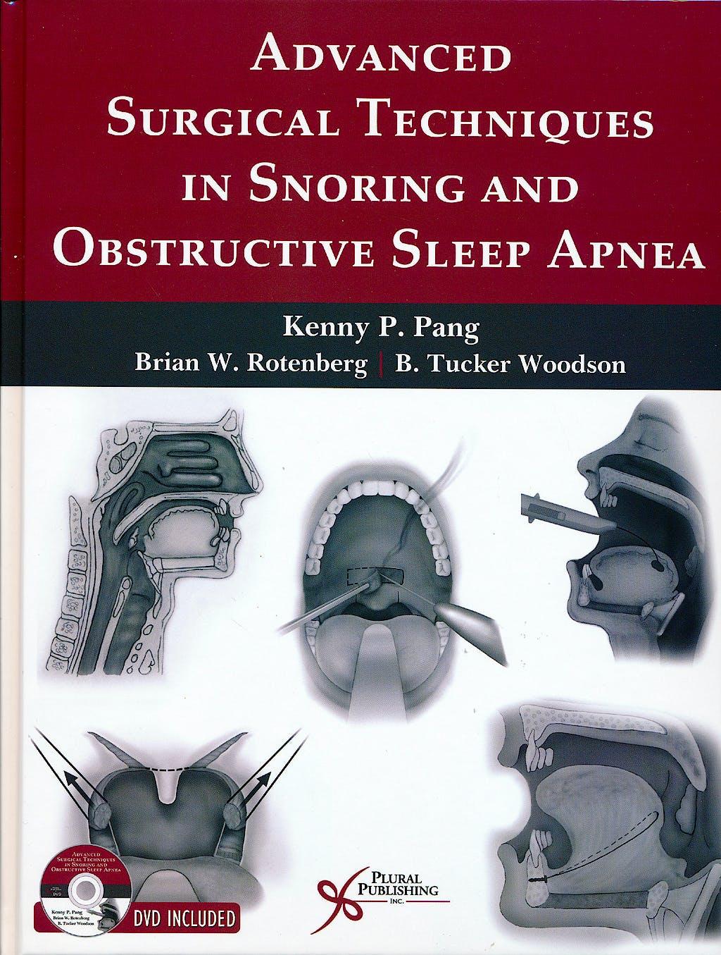 Portada del libro 9781597564717 Advanced Surgical Techniques in Snoring and Obstructive Sleep Apnea + Dvd