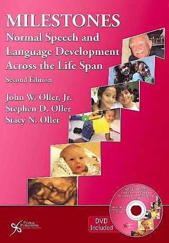 Portada del libro 9781597565011 Milestones. Normal Speech and Language Development across the Life Span