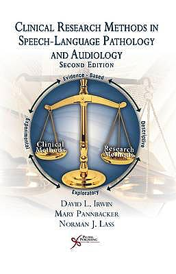 Portada del libro 9781597565080 Clinical Research Methods in Speech-Language Pathology and Audiology