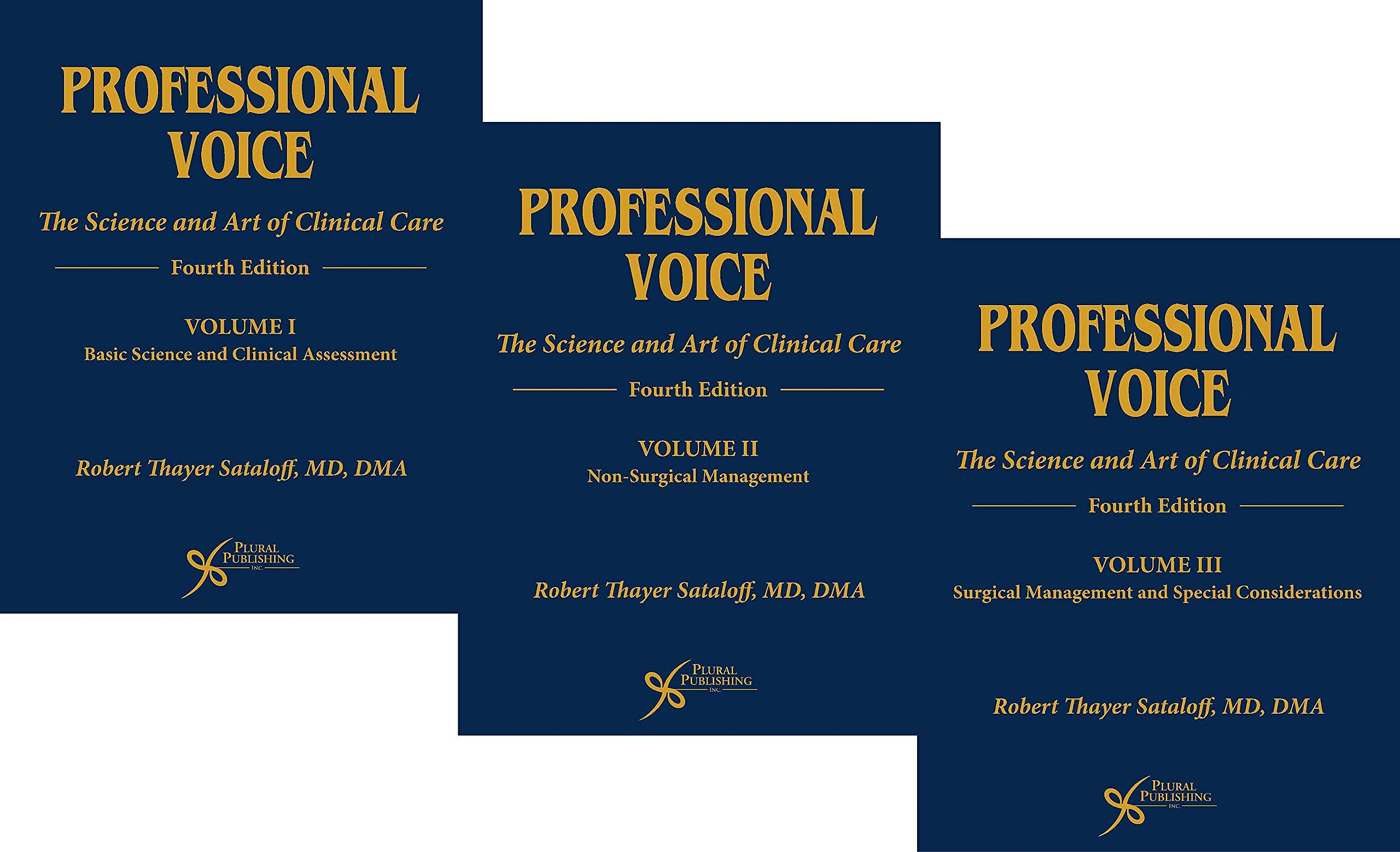 Portada del libro 9781597567091 Professional Voice. The Science and Art of Clinical Care (3 Volume Set)