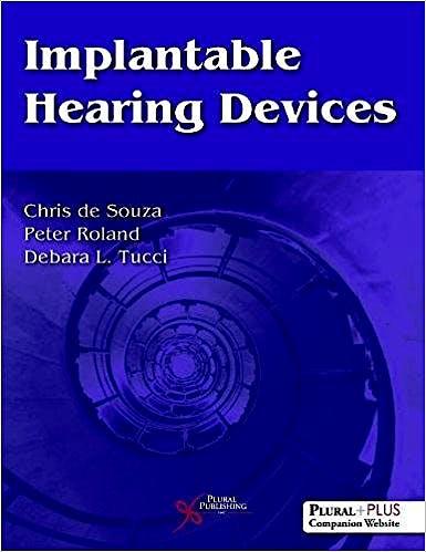 Portada del libro 9781597568555 Implantable Hearing Devices