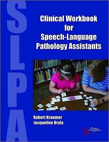 Portada del libro 9781597568906 Clinical Workbook for Speech-Language Pathology Assistants