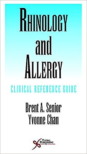 Portada del libro 9781597569651 Rhinology and Allergy. Clinical Reference Guide