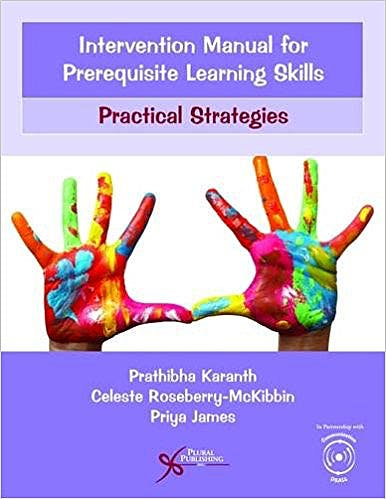Portada del libro 9781597569705 Intervention Manual for Prerequisite Learning Skills. Practical Strategies