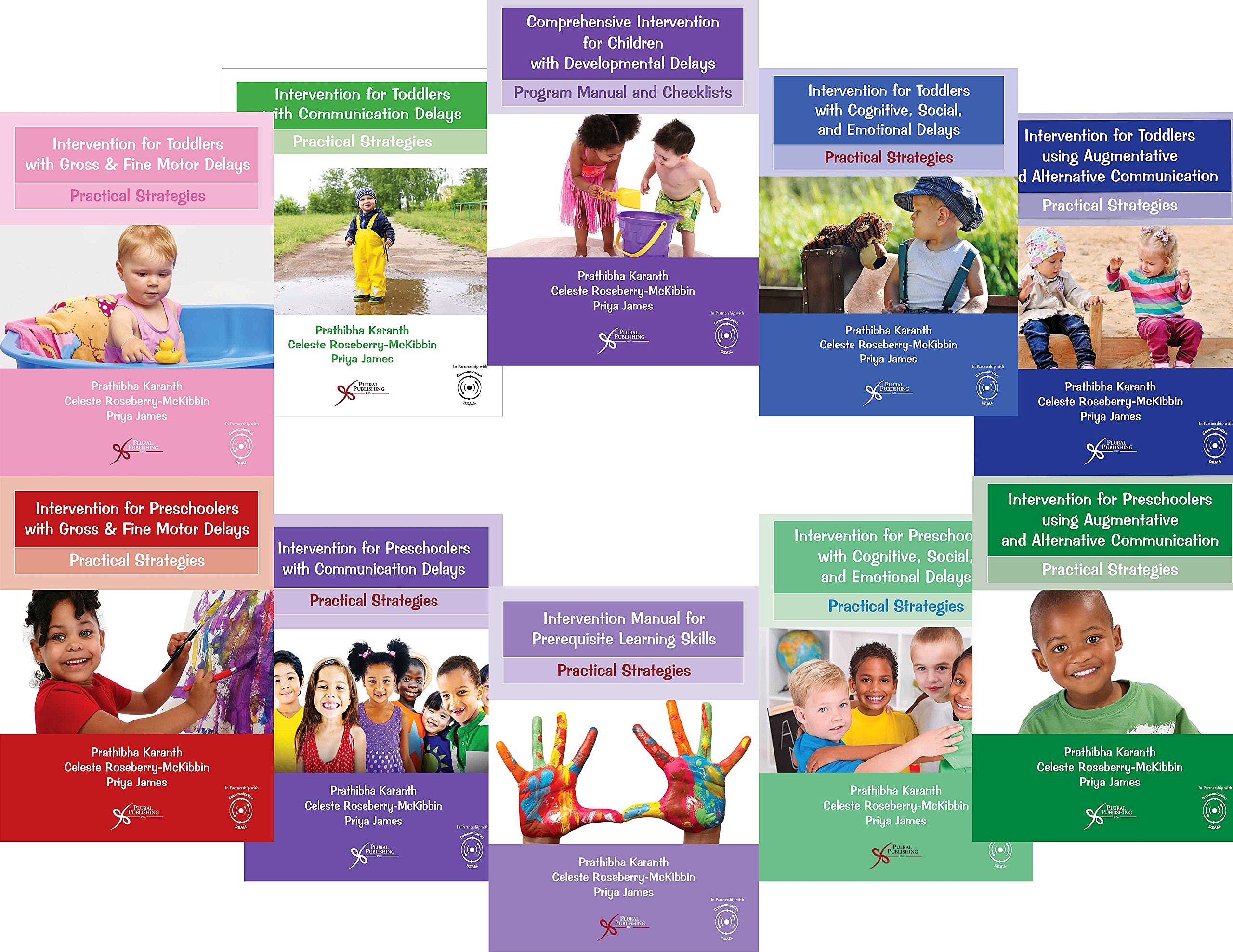 Portada del libro 9781597569804 Comprehensive Intervention for Children with Developmental Delays and Disorders: Practical Strategies: Complete Intervention Manual Set 10 Books