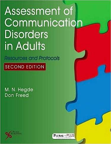 Portada del libro 9781597569835 Assessment of Communication Disorders in Adults. Resources and Protocols
