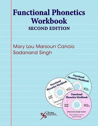 Portada del libro 9781597569903 Functional Phonetics Workbook + 3 CD-ROM