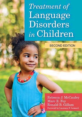 Portada del libro 9781598579796 Treatment of Language Disorders in Children + Dvd + Online Access