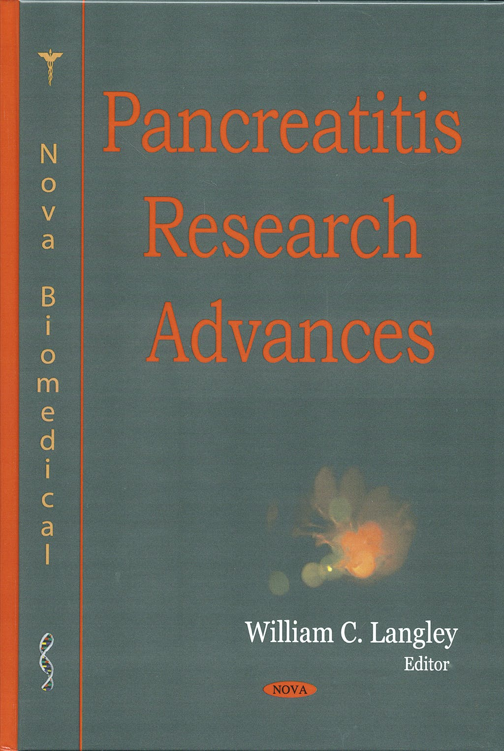 Portada del libro 9781600218835 Pancreatitis Research Advances