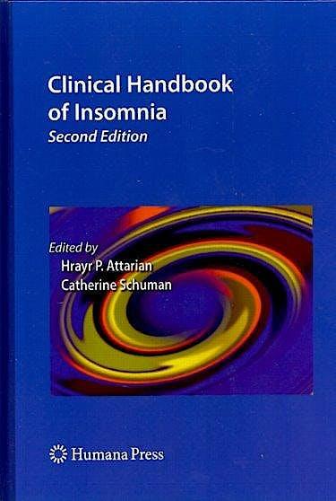 Portada del libro 9781603270335 Clinical Handbook of Insomnia