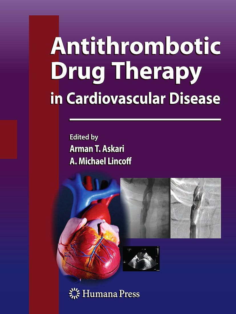 Portada del libro 9781603272346 Antithrombotic Drug Therapy in Cardiovascular Disease