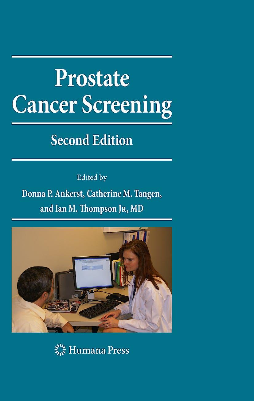 Portada del libro 9781603272803 Prostate Cancer Screening