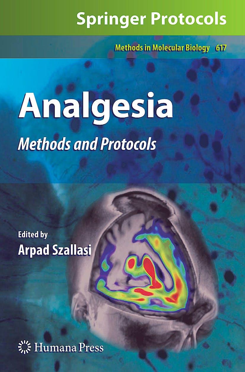 Portada del libro 9781603273220 Analgesia. Methods and Protocols