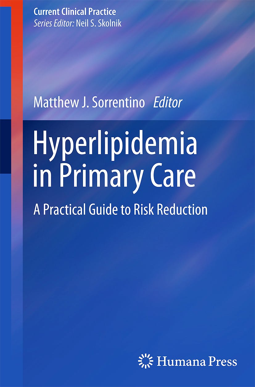 Portada del libro 9781603275019 Hyperlipidemia in Primary Care. a Practical Guide to Risk Reduction (Current Clinical Practice)
