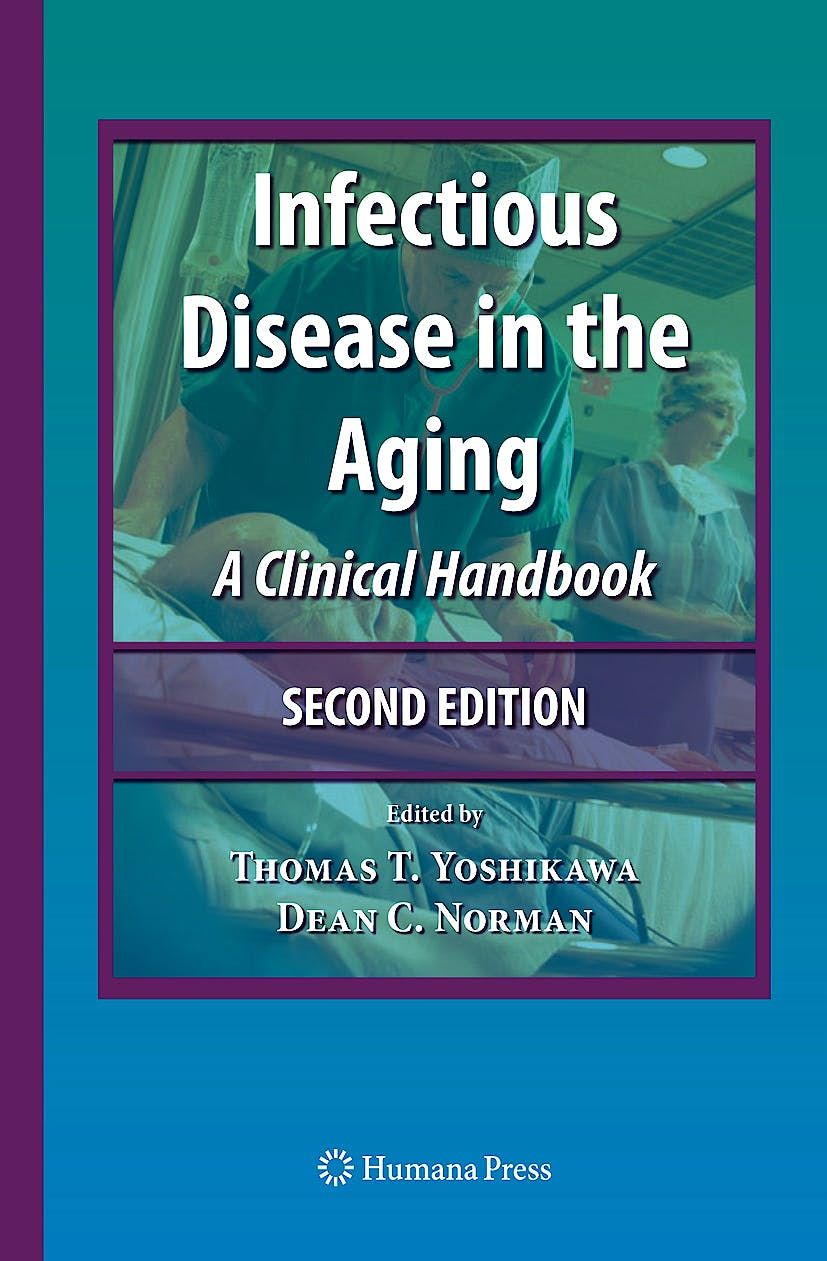Portada del libro 9781603275330 Infectious Disease in the Aging. a Clinical Handbook
