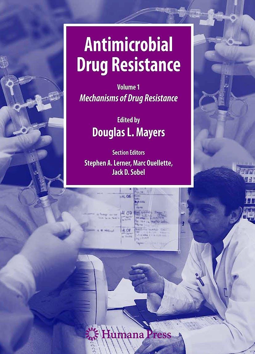 Portada del libro 9781603275927 Antimicrobial Drug Resistance Handbook. Mechanisms of Drug Resistance, Volume 1