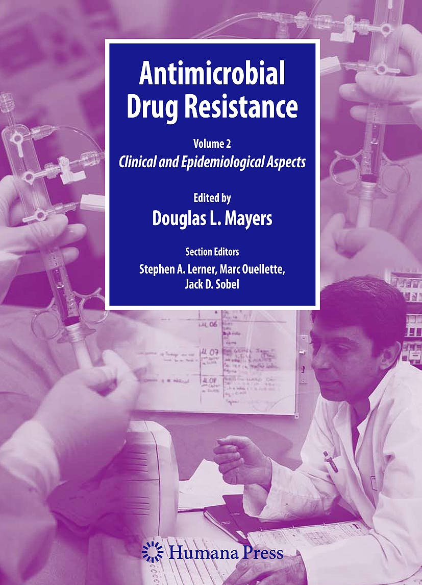 Portada del libro 9781603275941 Antimicrobial Drug Resistance Handbook . Clinical and Epidemiological Aspects, Volume 2