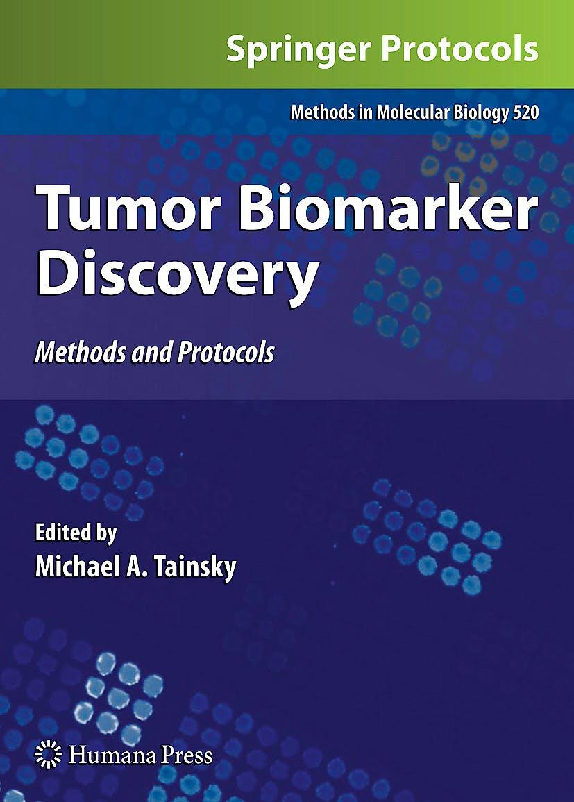 Portada del libro 9781603278102 Tumor  Biomarker Discovery