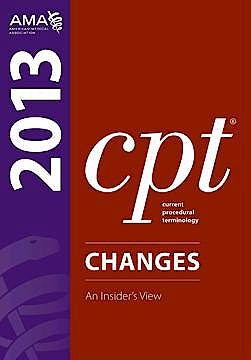 Portada del libro 9781603596855 Cpt Changes 2013. an Insider's View