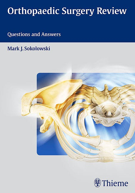 Portada del libro 9781604060423 Orthopaedic Surgery Review. Questions and Answers