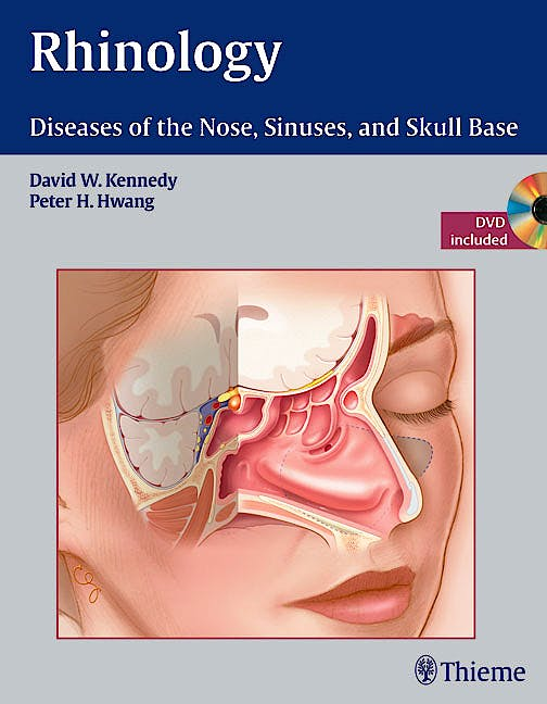 Portada del libro 9781604060607 Rhinology. Diseases of the Nose, Sinuses, and Skull Base + DVD