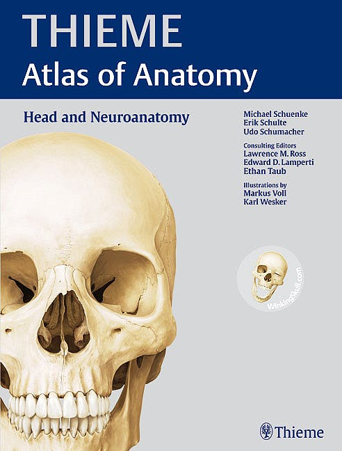 Portada del libro 9781604062908 Thieme Atlas of Anatomy. Head and Neuroanatomy (Softcover)