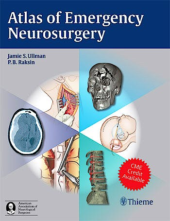Portada del libro 9781604063684 Atlas of Emergency Neurosurgery
