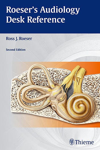 Portada del libro 9781604063981 Roeser's Audiology Desk Reference