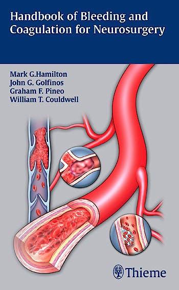 Portada del libro 9781604065442 Handbook of Bleeding and Coagulation for Neurosurgery