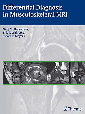 Portada del libro 9781604066838 Differential Diagnosis in Musculoskeletal Mri