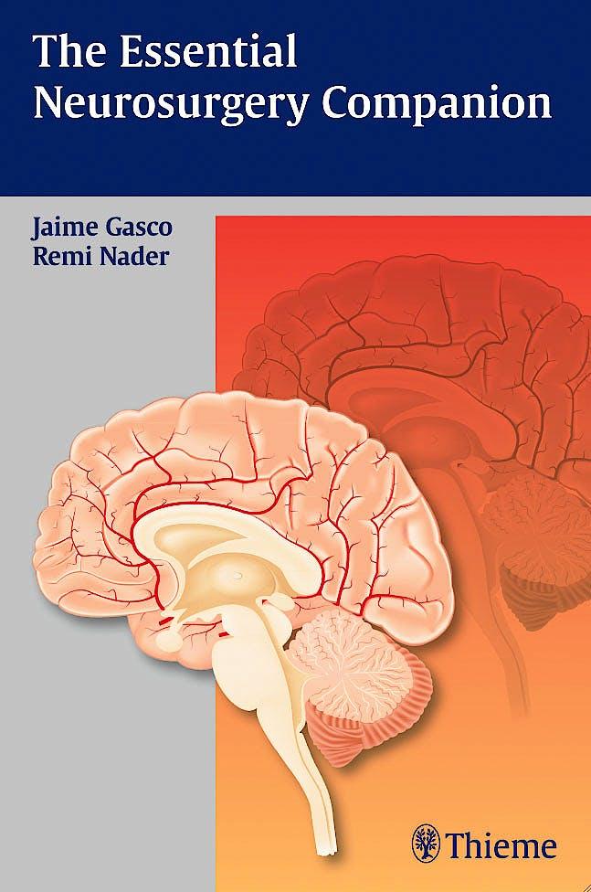 Portada del libro 9781604067354 The Essential Neurosurgery Companion