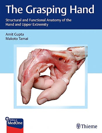 Portada del libro 9781604068160 The Grasping Hand. Structural and Functional Anatomy of the Hand & Upper Extremity