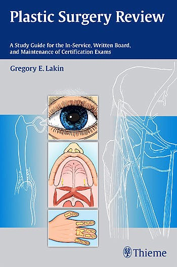 Portada del libro 9781604068368 Plastic Surgery Review. a Study Guide for the In-Service, Written Board, and Maintenance of Certification Exams