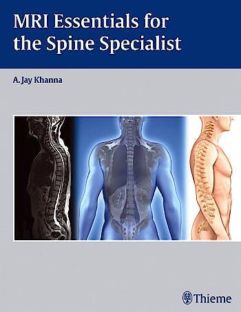 Portada del libro 9781604068771 Mri Essentials for the Spine Specialist